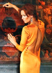 Олеся Судзиловская в платье Spring-Summer 2012