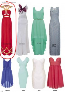 Платье Spring-Summer 2012