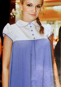 Женя Малахова в платье коллекции Spring-Summer 2012