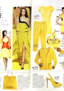 Платье и блуза Spring-Summer 2012